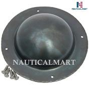NauticalMart Shield Boss Blackened Finish