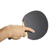 Table Tennis Rackets Ping Pong Pouch Bat Pimples-in Rubber Bat Shake-Hand Grip for Fast Attack Type Player