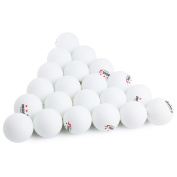 Table Tennis Ball Ping Pong Balls 60pcs Stand 3-star 40mm Practise for Training Pratice