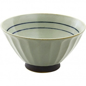 CtoC JAPAN Rice bowl Pottery Size(cm):Diameter 12.2x6.2 ca109435