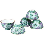 CtoC JAPAN Rice bowl x5pcs set Porcelain Size(cm):Diameter 11.2x6.5 ca221458