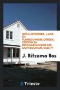 Geillustreerde, Land- En Tuinbouwbibliotheek; Ziekten En Beschadigingen Der Ooftboomen. Deel IV