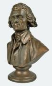 7.6cm Desktop Thomas Jefferson Bust Figurine Statue Sculpture - Founding Father
