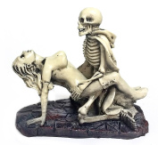 Nude Funny Dracula Lover Skulls Sexy Statues Adult Ceremony Polyresin
