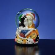 Christmas Cats Snow Globe