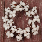 The Country House Collection MINI Cotton Boll Floral Wreath