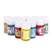 FTXJ 12 Scent 3ML/Box Pure & Natural Essential Oils Aromatherapy Diffuser Skin Care Oils