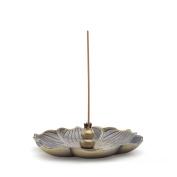 HOUGOO Bronze Lotus Incense Burner Holder