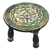 Govinda - Round Tree of Life Altar Table 15cm Diameter