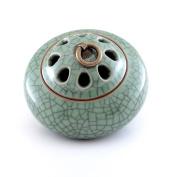 MEDOOSKY Ceramic Incense Burner Holder(For Sticks, Cones or Coils Incense), Firing at 1300℃