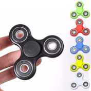 [Hyun Hyun round and round plastic relaxation goods Hand Fidget Spinner Focus Toy aluminium alloy raising EDC finger spinner brain tray stress-relieving ADHD application adult child concentration]
