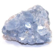Celestine/Celestite Crystal Cluster - Astral Travel, access Akashic records by GeoFossils