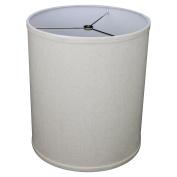FenchelShades.com 30cm Top Diameter x 30cm Bottom Diameter 36cm Height Cylinder Drum Lampshade USA Made