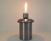 Fire Pot or Table-Top Tiki Torch Stainless Steel Refillable Insert