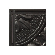 Genesis - Antique Black Ceiling Tile - Drop / Grid Ceiling - Fast and Easy Installation