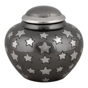 Perfect Memorials Small Starry Night Brass Cremation Urn