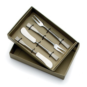 Napa Home & Garden Grove Spreaders and Forks, 4-piece Set