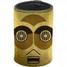 C3PO GOLD METALLIC CAN COOLER