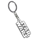 Star Wars Silver Logo Key Ring