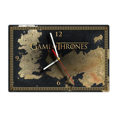 Game of Thrones Glass Clock