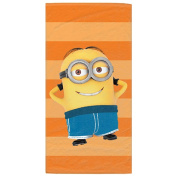 Despicable Me Minion Sunbaking Beach Towel
