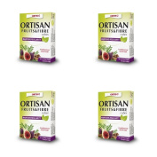(4 PACK) - Ortis Ortisan Fruit & Fibre Cubes With Rhubarb   12s   4 PACK - SUPER SAVER - SAVE MONEY