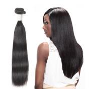 "Brazilian Virgin Hair Straight 3 Bundles Virgin Hair Unprocessed Real Human Hair Extension Natural Black£¨16""18""20""inches)"