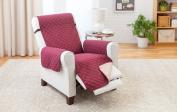 Deluxe Reversible RECLINER Furniture Protector, Burgundy / Tan 200cm x 180cm