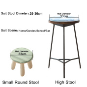 Fabric Chair Seat Student Thickened Round Pad Bar Stool Pad