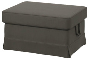 The Heavy Cotton Ektorp Ottoman Cover Replacement is Custom Made for Ikea Ektorp Footstool Or Stool Slipcover