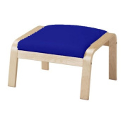 The Dense Cotton Poang Footstool Cover Replacement Is Custom Made for Ikea Poang Chair's Ottoman Slipcover.