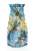 Modgy Collapsible and Expandable Louis C. Tiffany Dragonfly Vase - NOT GLASS