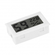 Shineweb bDigital Mini LCD Indoor Instant-Read Temperature Humidity Gauge Thermometer