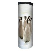 Tree-Free Greetings BT21926 Barista Insulated Travel Mug, 500ml, Emperor Penguin Chicks