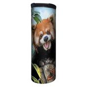 Tree-Free Greetings BT21902 Barista Insulated Travel Mug, 500ml, Red Panda Selfie