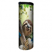 Tree-Free Greetings BT21903 Barista Insulated Travel Mug, 500ml, Sloth Selfie