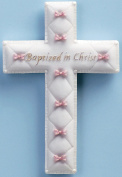 "Baby Nursery ""Baptised in Christ"" Baptism Wall Cross"