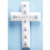 Bas Relief Baptism Cross for a Boy
