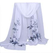 Chiffon Scarf ,BeautyVan Cute Soft Fashion Women Long Soft Wrap scarf Ladies Shawl Chiffon Scarf Scarves
