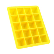 YRD TECH Hot Silicone Freeze Mould Bar Pudding Jelly Chocolate Maker Mould 20 Ice Cube