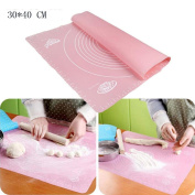 YRD TECH Non-Stick Silicone Baking Cake Dough Fondant Rolling Kneading Mat Scale Table Grill Pad