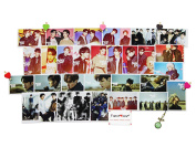 Fanstown kpop GOT7 postcard with lomo cards