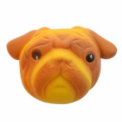 OVERMAL Exquisite Fun Crazy Dog Scented Squishy Charm Slow Rising 8cm Simulation Kid Toy