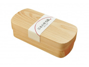 Yamako Hinoki (Cypress) Wooden Lunch Box Bento Made in Japan 89713
