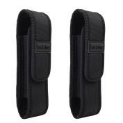 2pcs Tac Light Pouch Holster Belt Carry Cases Fits G700,A100,T2000,X800 Tactical Flashlight