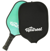 Graphite Pickleball Paddle by Upstreet | PP Honeycomb Composite Core | Neoprene Racket Cover