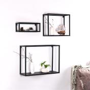 TRRE@ Nordic wrought iron Wall Hanging Shelves Living Room Bedroom Iron creative bookshelf Wall Decorative Shelf Accessories