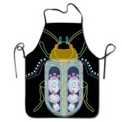 Insect Art Cooking Apron Kitchen Apron Bib Aprons Chief Apron Home Easy Care For Men Women