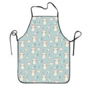 Cute Cat Cooking Apron Kitchen Apron Bib Aprons Chief Apron Home Easy Care For Men Women