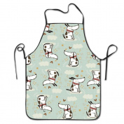 Emotional Doggy Cooking Apron Kitchen Apron Bib Aprons Chief Apron Home Easy Care For Men Women